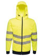 Hi-Vis Pro FZ Extol Stretch Hoodie Jacket