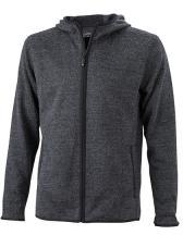 Men`s Knitted Fleece Hoody